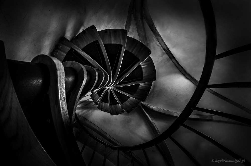 …mam skręta na punkcie schodów …
