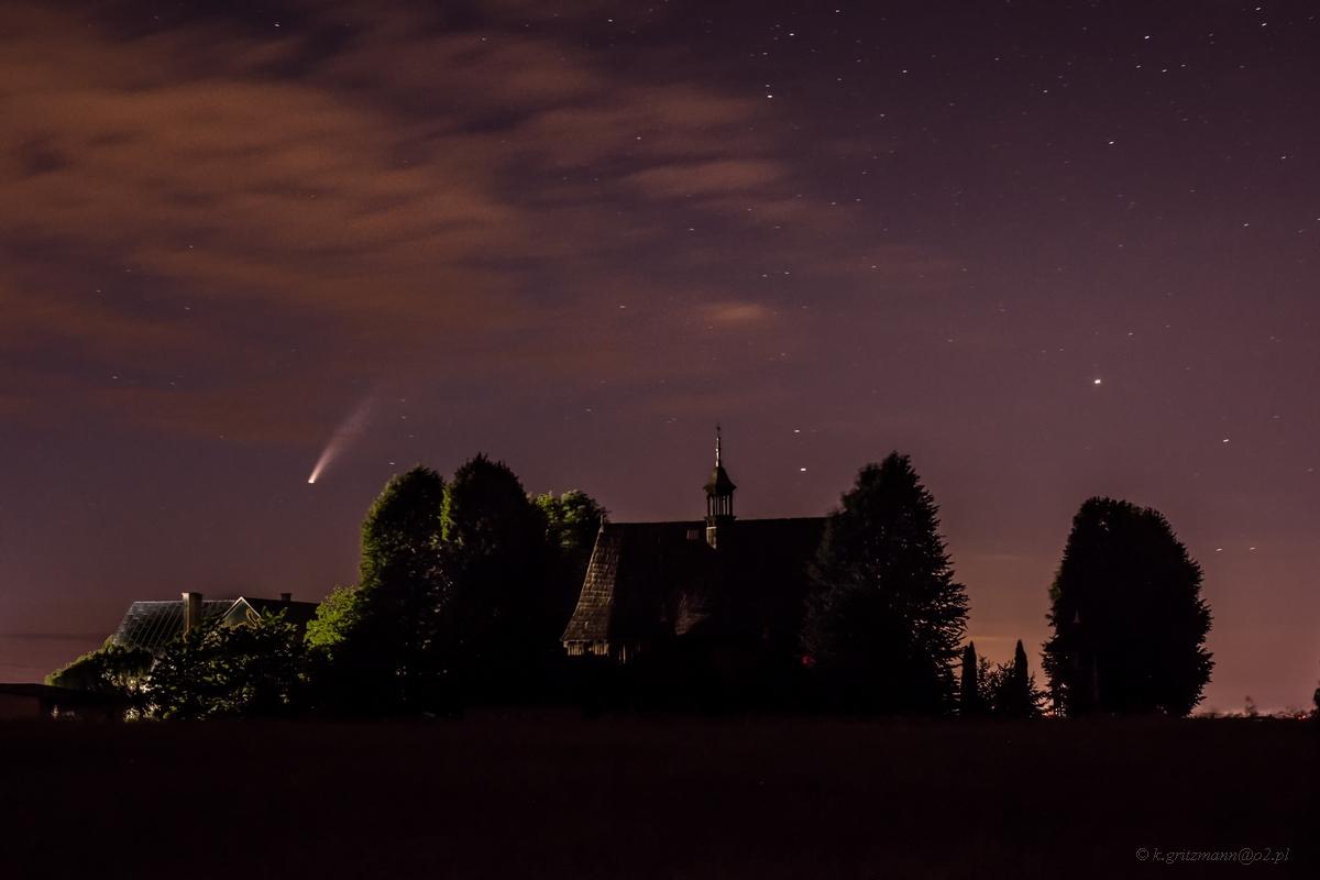 Kometa nad Radkowicami