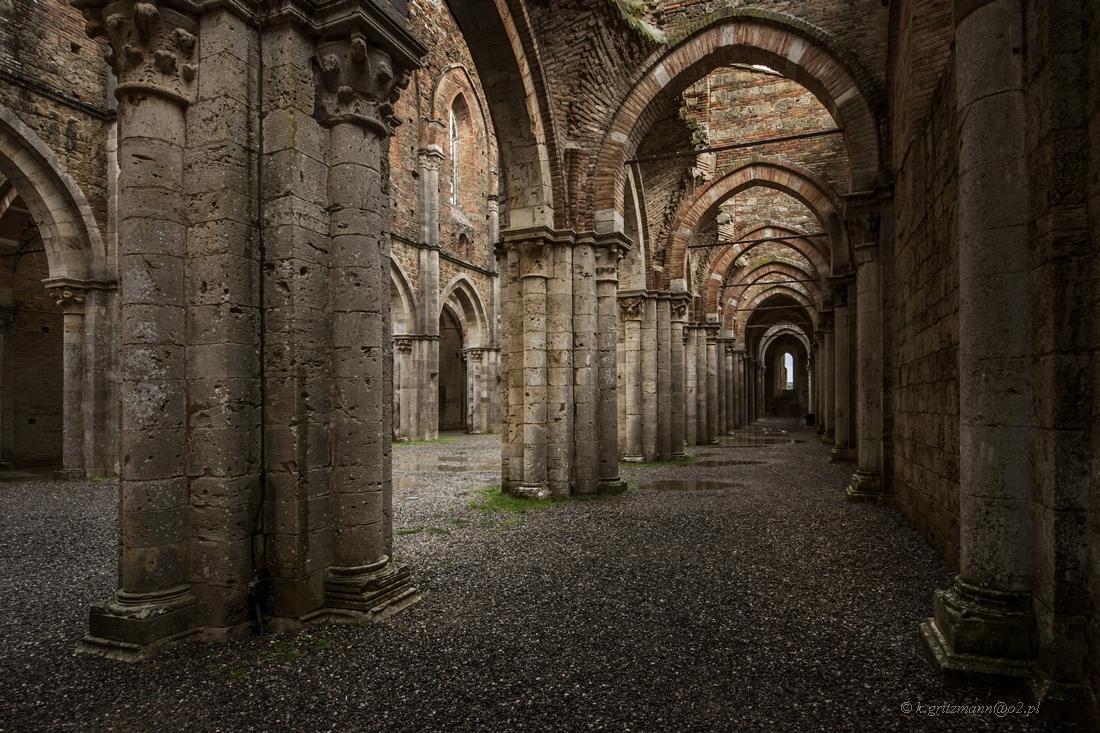 San Galgano - ruiny opactwa